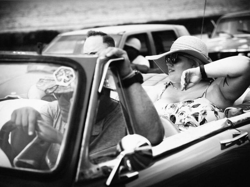 Amerikanische Touristen, Havanna 2017