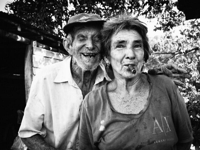 Auf wenig sind die Kubaner so stolz wie auf ihre Zigarren. Fast jeder raucht, Viñales 2017